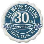 pic-All Water Systems Anniversary Logo